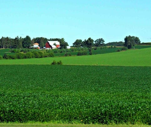 The state's diverse agriculture industry makes it more resilient to the impact of low prices, especially farmland values.
