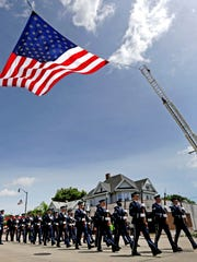 The nation's oldest Flag Day parade is held in Appleton, Wisconsin.