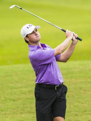 Carter Toms' senior season at LSU will include a tournament at his home course, Southern Trace.