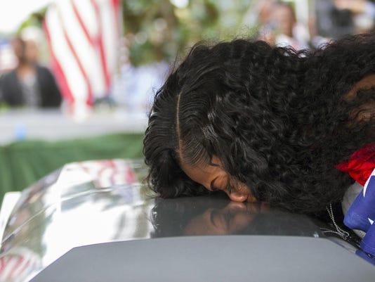 Fallen Soldier Widow