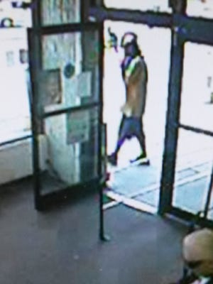 Hattiesburg police a searching for an armed robbery suspect.