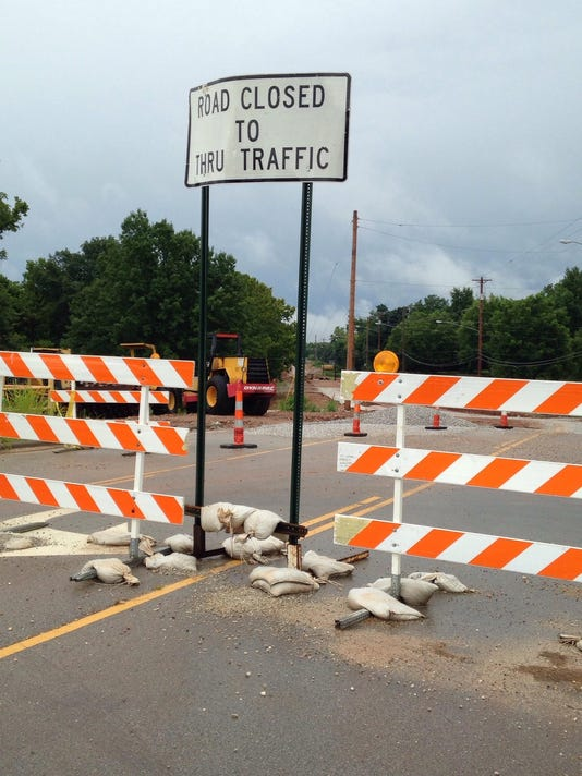Weaver Road Closed