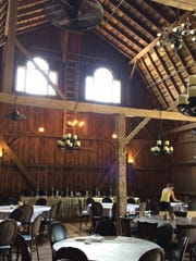 Tryba's Simply Country Barn opened for receptions in Freedom.