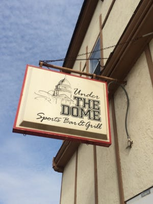 Under the Dome closed in downtown Neenah on Saturday, April 16, 2016.