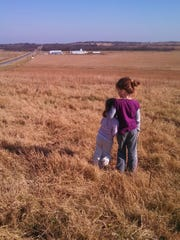 Stacy Welsh-Christ and her family live on their feed store, Angus Valley Ranch & Equipment, in Wewoka, Oklahoma.