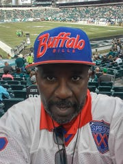 Ogden D. Whitehead pictured at the Bills vs. Eagles