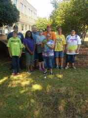 The Adaptive Recreation gardening class harvested their