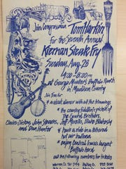 The Harkin Steak Fry started out as the Kiernan Steak Fry. The first Kiernan Steak Fry was in 1972. Harkin took over in 1987.