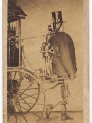 Zadoc P. Dederick's Newark Steam Man