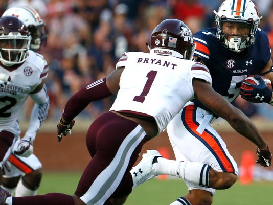 NCAA Football: Mississippi State at Auburn
