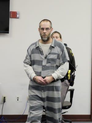 Troy Thomas MIlan at his sentencing Nov. 29, 2017 in Ingham County Circuit Court.