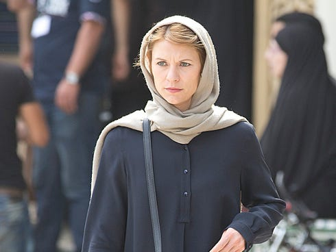 Carrie Mathison (Claire Danes) has a lot to deal with.