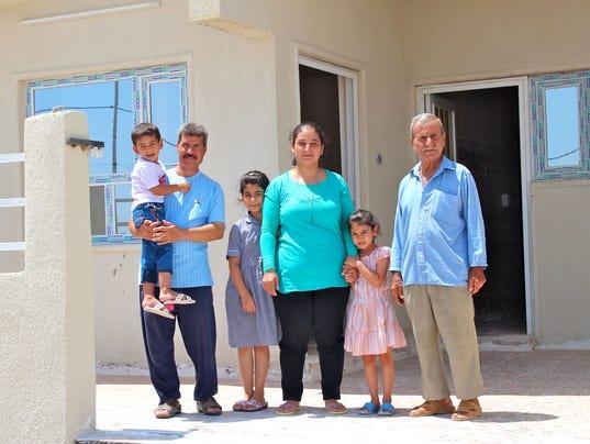 Flora's family - Qaraqosh