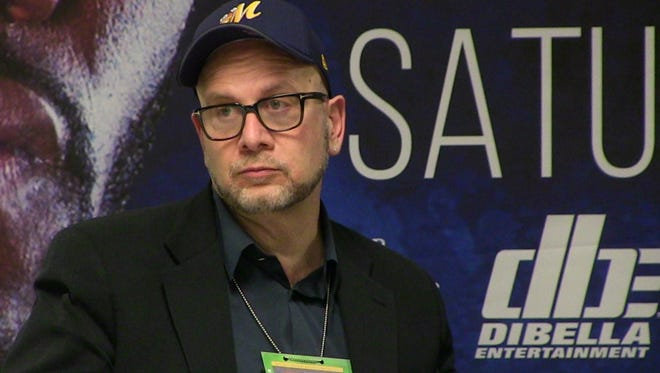 Boxing promoter Lou DiBella, shown in February before Deontay Wilder's WBC heavyweight championship fight in Birmingham, took over as the Biscuits' owner in early May.