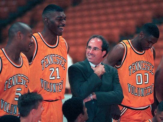 University of Tennessee basketball coach Kevin O'Neill