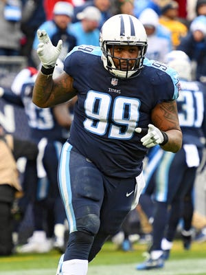 Tennessee Titans defensive tackle Jurrell Casey.