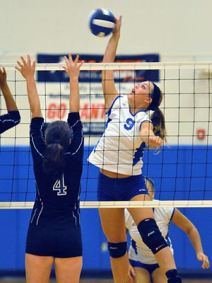 Titusville High's Sam Bitner (9) is FLORIDA TODAY's Athlete of the Week for the Week of Sept. 28-Oct. 4.