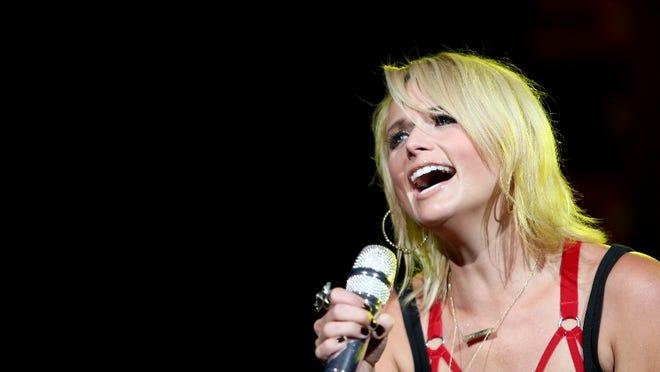 Miranda Lambert performs on Saturday at Klipsch Music Center.