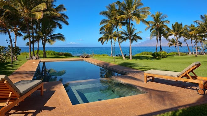 Wailea Sunset Estate in Hawaii. Judy Morris offered to take the juniors at Cobre High School in Bayard, near Silver City, to Hawaii in 2019 if they keep their grades up, don't get pregnant and succeed in getting their high school diploma.