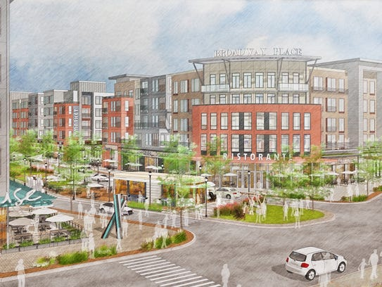 A design concept for Lower Broadway in Long Branch
