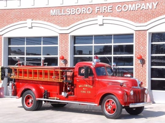 A 1942 Ford Engine used by the Millsboro Fire Company.
