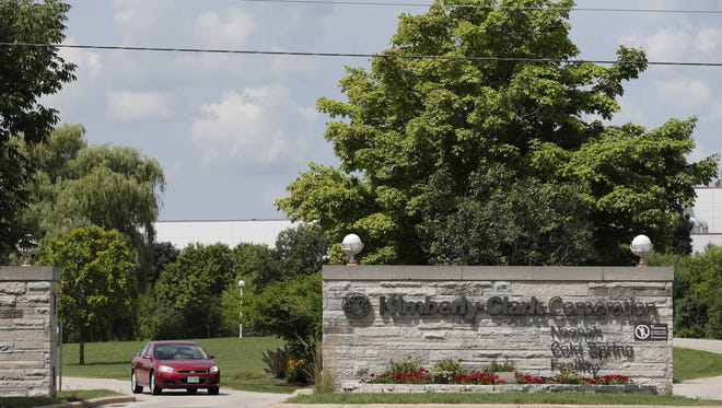 """Kimberly-Clark Corporation's """"Neenah Cold Spring Facility"""" is  located at 1050 Cold Spring Road in Fox Crossing."""