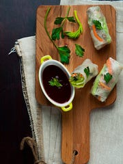 Basa Modern Vietnamese was know for its spring rolls, similar to the ones pictured.