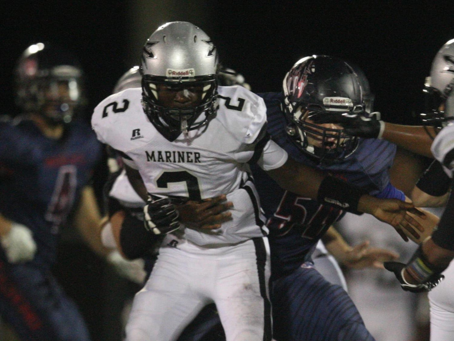 Junior quarterback Cairo Jeunegens and Mariner are 2-1 on the season heading into Friday's district opener with Cypress Lake