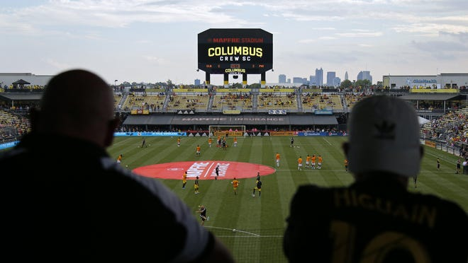 Mapfre Stadium has a capacity of 19,968. Under the Crew's plan for the restart, attendance would be limited to about 25% of capacity.