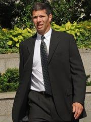 Bernard Madoff's accountant David Friehling arrives