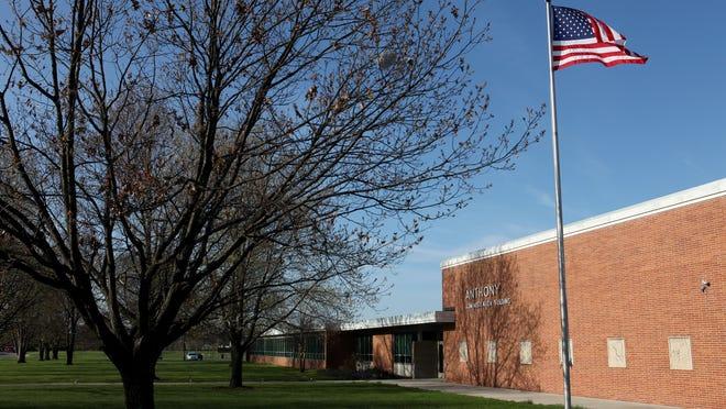 Muncie Community School's Anthony Administration Building on Oakwood Ave.
