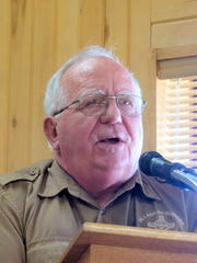 Forestry Dircetor Dick Cooke reported on five years of compliance work in the village and plans for the next five.