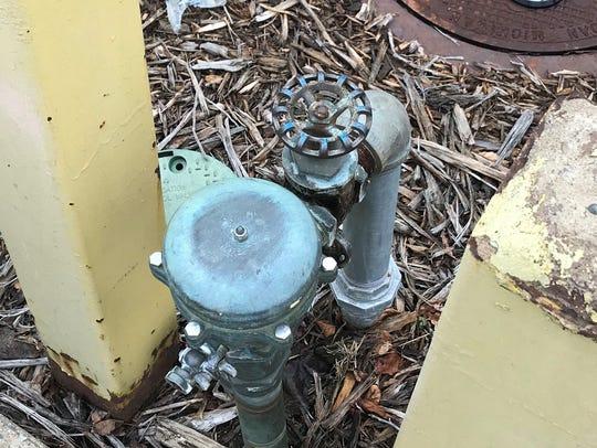 A pressure vacuum breaker is a type of backflow preventer