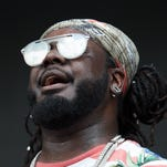 T-Pain performs at Firefly