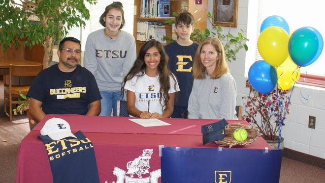 Owen senior Anissa Avila has signed to play college softball for East Tennessee State.