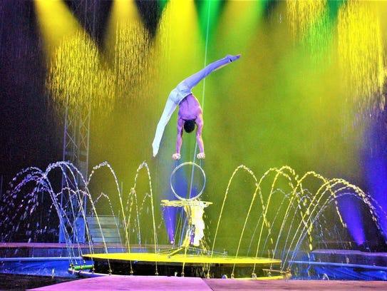 Cirque Italia will begin at 7:30 p.m. Thursday, Feb.