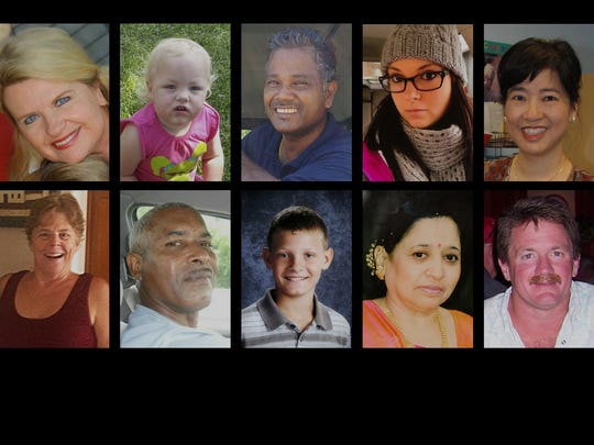 A composite image of patients that have died at surgery centers across America.