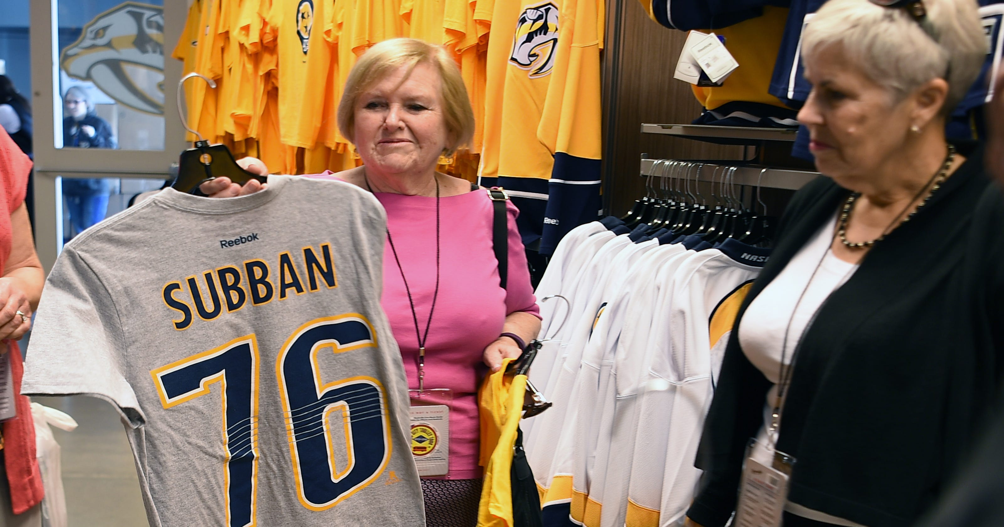 And the top-selling Nashville Predators jersey is... 45197bbb3