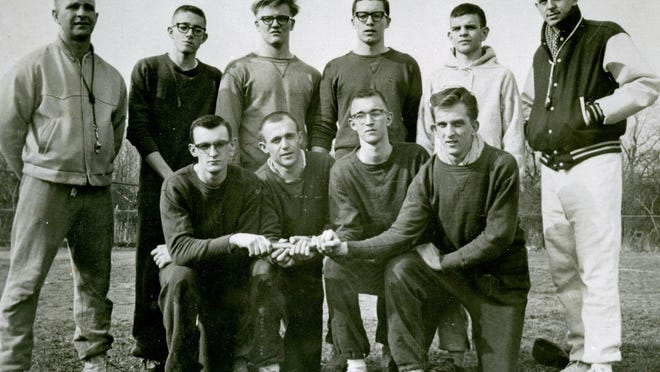 The 1962 North East boys track and field team won the PIAA Class B championship as the Grapepickers began a run of three consecutive PIAA team titles.