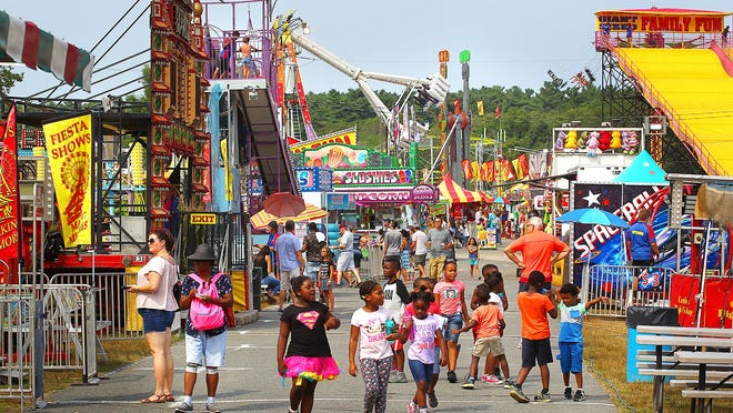 4H competitions, rides, games, food and fun are all part of opening day of the 2018 Marshfield Fair, Friday, Aug. 17, 2018.Gary Higgins/The Patriot Ledger