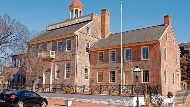 The New Castle County Court House Museum is where local lawmakers met on June 15, 1776, and declared  independence from Pennsylvania and England and established Delaware as a state.