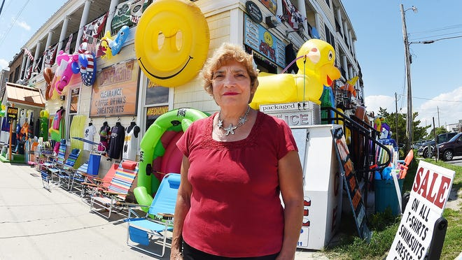 "Dewey Beach Mayor Diane Hanson says the owner of Jeremiah's has ""twice as much stuff"" as he should have outside."