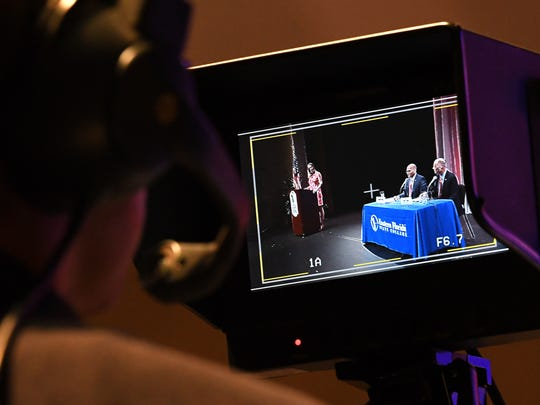 The forum was broadcast live on WEFS-TV and at floridatoday.com