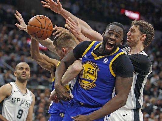 Golden State Warriors v San Antonio Spurs-Game three