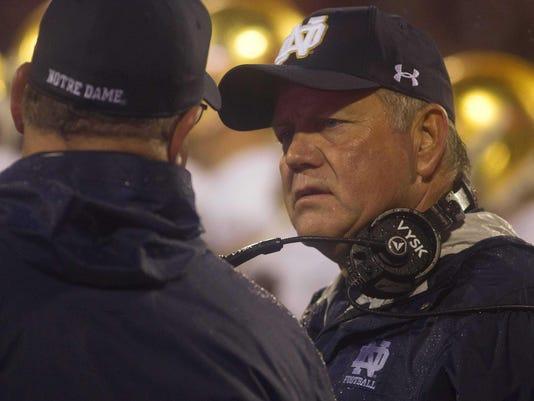 NCAA Football: Notre Dame at Clemson