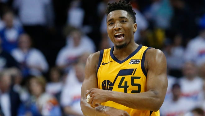 Jazz guard Donovan Mitchell, who helped Utah get to the second round of the playoffs, was selected to be on the NBA's All-Rookie team.