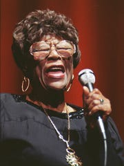 Ella Fitzgerald, the First Lady of Song, performs in