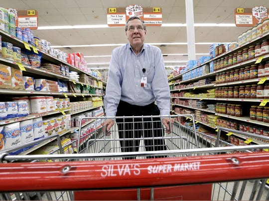 Silva's Super Market President Martin Silva is shown inside his supermarket in South El Paso in 2016. The supermarket is next to the Stanton Street international bridge.