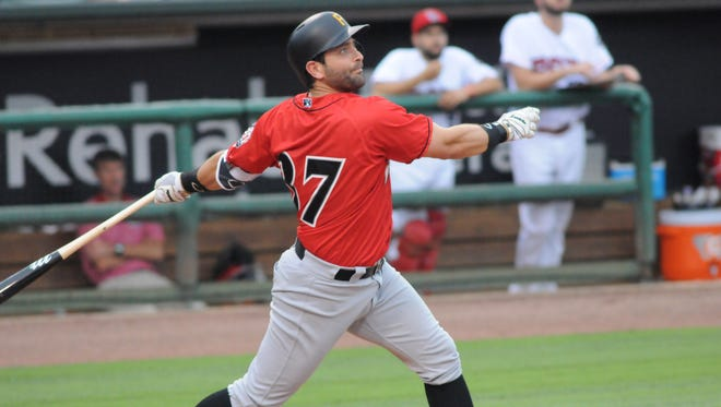 Francisco Cervelli went 2-for-4 in a rehab start for the Indianapolis Indians on Thursday.