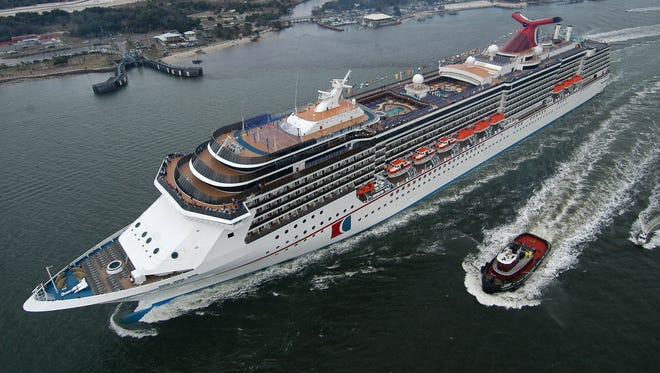 The 2,124-passenger Carnival Miracle.